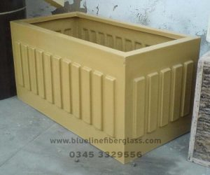 Fiberglass Dustbins Pots & Planters (10)