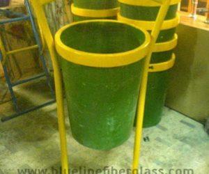 Fiberglass Dustbins Pots & Planters (18)