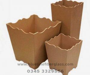 Fiberglass Dustbins Pots & Planters (2)