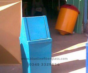 Fiberglass Dustbins Pots & Planters (23)
