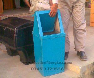 Fiberglass Dustbins Pots & Planters (28)