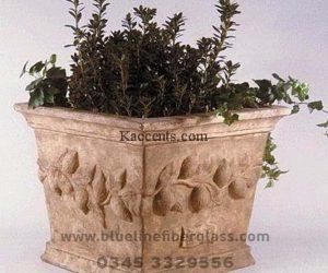 Fiberglass Dustbins Pots & Planters (37)