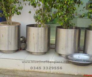 Fiberglass Dustbins Pots & Planters (38)