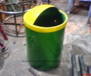 Fiberglass Dustbins Pots & Planters (5)