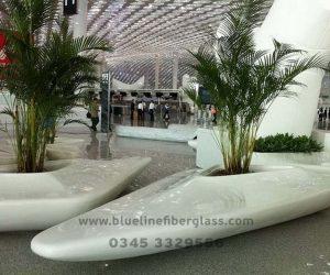 Fiberglass Dustbins Pots & Planters (50)