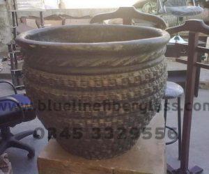 Fiberglass Dustbins Pots & Planters (53)