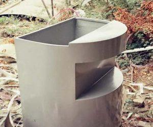 Fiberglass Dustbins Pots & Planters (56)