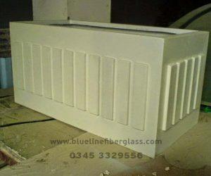 Fiberglass Dustbins Pots & Planters (6)