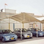 car parking shades karachi Pakistan