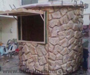 fiberglass guard room toilet portacabin (101)