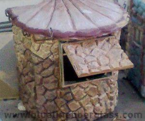 fiberglass guard room toilet portacabin (102)