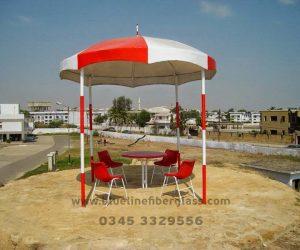 fiberglass shade canopy umbrella parks (11)