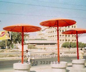 fiberglass shade canopy umbrella parks (17)