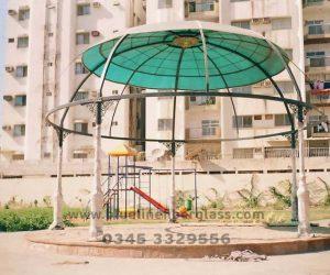fiberglass shade canopy umbrella parks (18)