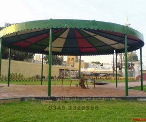 fiberglass shade canopy umbrella parks (27)