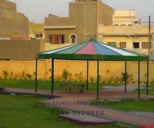 fiberglass shade canopy umbrella parks (28)