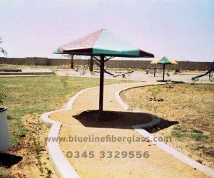 fiberglass shade canopy umbrella parks (3)