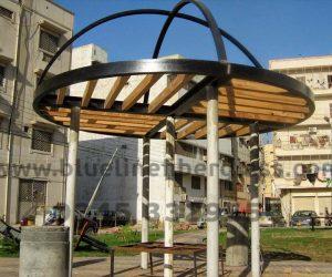 fiberglass shade canopy umbrella parks (31)