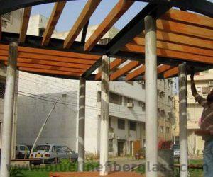 fiberglass shade canopy umbrella parks (33)