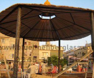 fiberglass shade canopy umbrella parks (36)