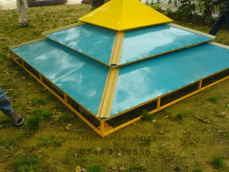 Fiberglass Canopy Doom Blue Line Fiberglass