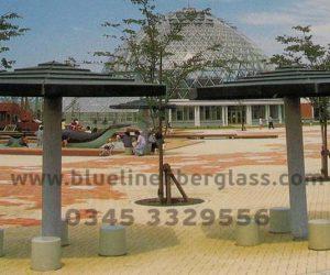 fiberglass shade canopy umbrella parks (48)