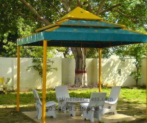 fiberglass shade canopy umbrella parks (49)