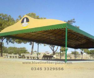 fiberglass shade canopy umbrella parks (52)