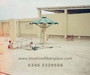 fiberglass shade canopy umbrella parks (7)