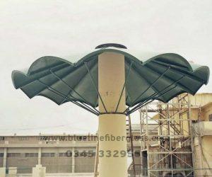 fiberglass shade canopy umbrella parks (8)