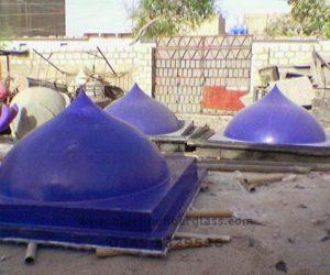fiberglass shade dome skylight (7)