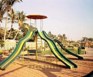 fiberglass slides climber swing (1)