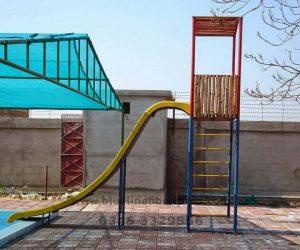 fiberglass slides climber swing (115)