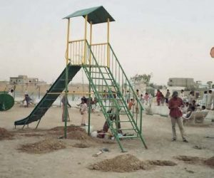 fiberglass slides climber swing (125)