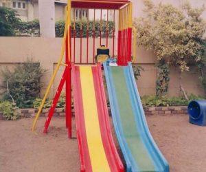 fiberglass slides climber swing (126)