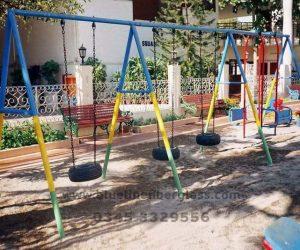 fiberglass slides climber swing (140)