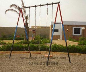 fiberglass slides climber swing (192)