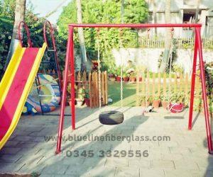 fiberglass slides climber swing (198)