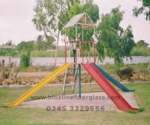 fiberglass slides climber swing (2)