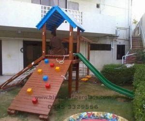 fiberglass slides climber swing (230)