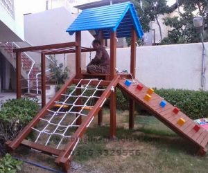fiberglass slides climber swing (231)