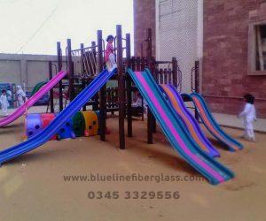fiberglass slides climber swing (235)