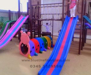 fiberglass slides climber swing (236)