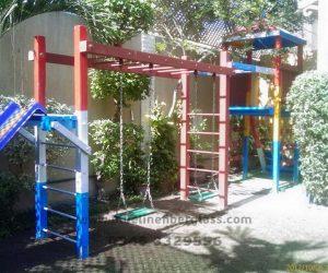 fiberglass slides climber swing (243)