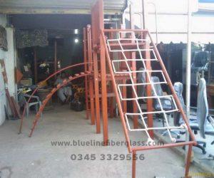 fiberglass slides climber swing (247)