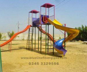 fiberglass slides climber swing (40)