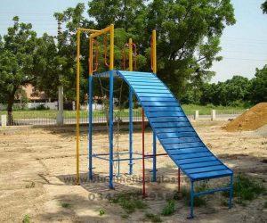 fiberglass slides climber swing (49)