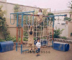 fiberglass slides climber swing (50)