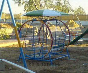 fiberglass slides climber swing (6)