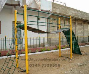 fiberglass slides climber swing (9)